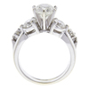 1.43 ct. Round Cut Bridal Set Ring, H-I, I2 #2