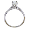 0.73 ct. Round Cut Solitaire Ring, H, SI1 #3