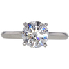 1.5 ct. Round Cut Solitaire Ring, I, VS1 #3