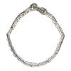 Antique Platinum 10 ct Diamond Link Bracelet Engraved Cartier Made In France #4