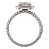 2.03 ct. Round Cut Halo Ring, H-I, I2 #3