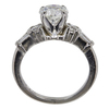 1.5 ct. Round Cut Bridal Set Ring, G, VS2 #4