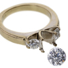 0.76 ct. Round Cut Solitaire Ring #4