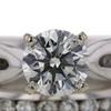 1.34 ct. Round Cut Bridal Set Ring #2