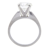 2.73 ct. Round Cut Solitaire Ring, H, SI1 #4
