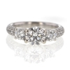1.26 ct. Round Cut 3 Stone Ring #1