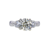 1.94 ct. Round Cut 3 Stone Ring, M-Z, I1 #2