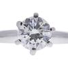 0.7 ct. Round Cut Bridal Set Ring, H, VS2 #4
