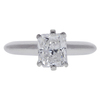 1.01 ct. Radiant Cut Solitaire Ring, F, SI2 #3