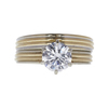 1.23 ct. Round Cut Solitaire Ring, G-H, I1 #2
