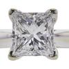 1.02 ct. Princess Cut Bridal Set Ring, D, VS2 #4
