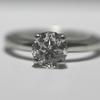 1.26 ct. Round Cut Bridal Set Ring #1