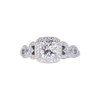 1.25 ct. Cushion Cut Halo Ring, H, VVS2 #4