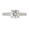 1.0 ct. Round Cut Solitaire Ring, F, VS2 #3