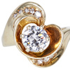 1.05 ct. Round Cut Solitaire Ring #1
