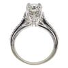 1.28 ct. Round Cut Bridal Set Ring, H-I, I2 #2