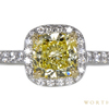 1.56 ct. Cushion Cut Halo Tiffany & Co. Ring, Fancy, SI1 #1