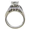 1.68 ct. Round Cut Bridal Set Ring, J, I1 #2
