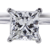 0.95 ct. Princess Cut Bridal Set Tiffany & Co. Ring #4