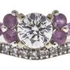 0.7 ct. Round Cut Bridal Set Ring, G, SI1 #4