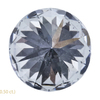 1.00 ct. Round Cut 3 Stone Ring, J, SI2 #4