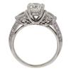 1.16 ct. Round Cut Bridal Set Ring, I, SI1 #4