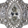 1.98 ct. Marquise Cut Solitaire Ring #2