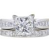 2.14 ct. Princess Cut Bridal Set Ring #1
