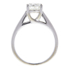 0.99 ct. Round Cut Bridal Set Ring, J, I2 #4