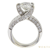 2.97 ct. Round Cut Solitaire Ring, I-J, I1 #3