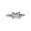1.01 ct. Round Cut Solitaire Ring, F, SI2 #3