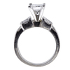 1.11 ct. Princess Cut Bridal Set Ring #2