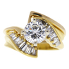 1.0 ct. Round Cut Solitaire Ring, G, SI1 #3