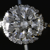 1.14 ct. Round Cut Bridal Set Ring #4