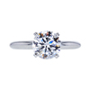 1.16 ct. Round Cut Solitaire Ring, D, VS1 #3