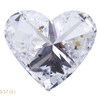 3.01 ct. Heart Cut 3 Stone Ring, I, SI2 #4