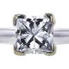 1.21 ct. Princess Cut Bridal Set Ring, G, VS2 #4