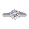 1.24 ct. Round Cut Solitaire Ring, G, SI2 #3