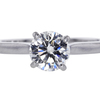 1.01 ct. Round Cut Solitaire Ring #3