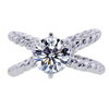 1.51 ct. Round Cut Solitaire Ring, G, VS1 #3