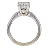 1.09 ct. Princess Cut Solitaire Ring, H, VS1 #4