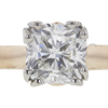1.23 ct. Cushion Cut Bridal Set Ring, F, VS2 #4