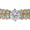 1.01 ct. Round Cut Bridal Set Ring, K, VS1 #4