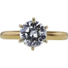 1.25 ct. Round Cut Solitaire Ring, K, VS2 #2