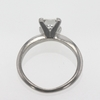 1.51 ct. Princess Cut Solitaire Ring #3