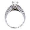 1.36 ct. Round Cut Bridal Set Ring, I, SI2 #4