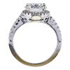2.01 ct. Round Cut Bridal Set Ring, G, SI1 #3