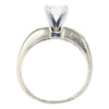 1.08 ct. Round Cut Solitaire Ring, M, VS1 #3