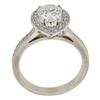1.65 ct. Pear Cut Bridal Set Ring, H-I, I1 #3