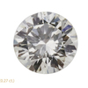 0.81 ct. Round Cut 3 Stone Ring, H, VS1 #3